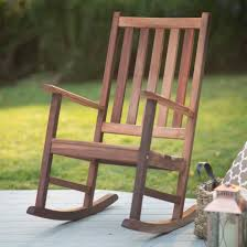 inspirations wooden outdoor rocking chairs and belham living richmond heavy duty outdoor wooden rocking chair
