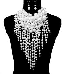 chunky pearl fashion necklace images Chunky pearl necklace set white social butterfly boutique jpg