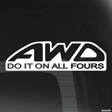 jdm mitsubishi logo decal awd do it on all fours jdm buy vinyl decals for car or