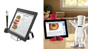 tablette special cuisine comment installer sa tablette en cuisine