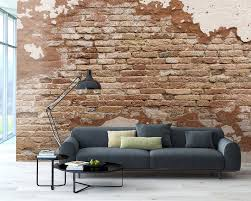 Wall Murals For Sale by Brewster Home Fashions Distressed Brick 8 U0027 X 118
