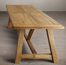 Best Oak Table Ideas On Pinterest Refinish Table Top - Trestle kitchen tables