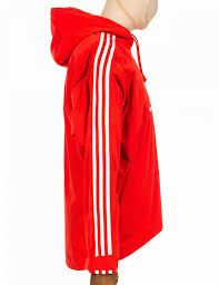 adidas originals tennoji windbreaker jacket bright orange