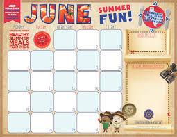f u0026n menu calendar templates