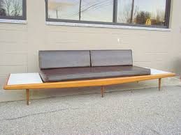 floating couch original adrian pearsall platform sofa couch mid century
