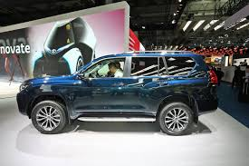 toyota suv cars updated toyota land cruiser at 2017 frankfurt show u2013 pictures