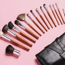 professional makeup artist tools palette 15 professional makeup brush set vanity planet