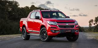 chevy colorado lowered holden colorado facelift revealed on sale september 1