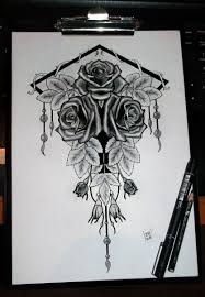 three roses tattoo project final form by yo shi ko on deviantart