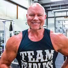 bill goldberg muscular development workout mooneyham injuries surgeries won t stop brad lodi cain from