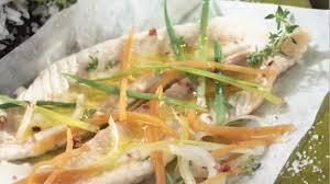cuisiner des legumes recette papillote de sole et légumes cuisiner la sole facilement