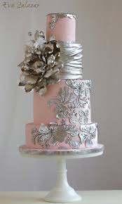 wedding cake decorating supplies best 25 silver cake ideas on silver wedding cakes