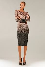ombre dress dress the population emery sequin ombre dress