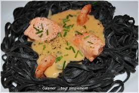 cuisiner seiche sauce homard pour pâtes à l encre de seiche cuisiner tout