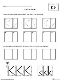letter k practice worksheet myteachingstation com