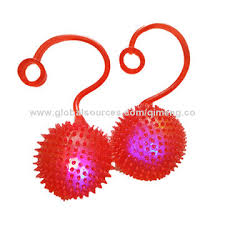 ball with light inside china yoyo flashing brambly water ball with tpr material and led