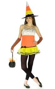 Corn Halloween Costume Amazon Teen Candy Corn Witch Costume Juniors Size 9