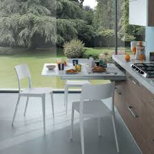table escamotable dans meuble de cuisine groupe sofive msafrance amenagement interieur tables