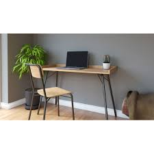 bureau en bois design bureau design métal et bois rayburn by drawer