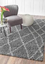 fluffy area rugs area rugs outstanding grey plush rug plush area