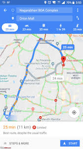 Google Maps Traffic Time Of Day Google Maps Introduces 2 Wheeler Mode Team Bhp