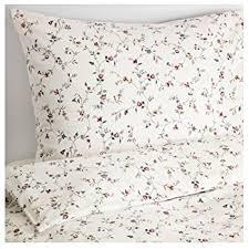 Ikea King Size Duvet Cover Amazon Com Ikea Strandkrypa Duvet Cover And Pillowcases Full