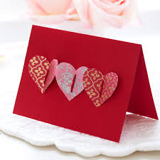 hang up pretty soft fabric hearts sewn by you