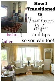 how i transitioned to farmhouse style little vintage nest