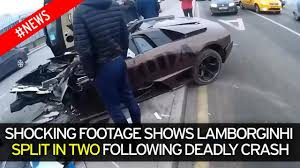 driver dies as 200 000 lamborghini owned by russian mma fighter