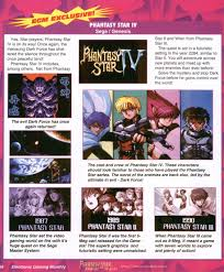Phantasy Star 2 World Map by Lttp Phantasy Star Iv Page 3 Neogaf