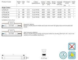 rewire fluorescent light for led crompton led t8 full glass tube 5ft 1500mm 24w 320deg