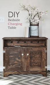 Wood Plans For Bedside Table by Ana White Bedside Charging Table Or Nighstand Diy Projects