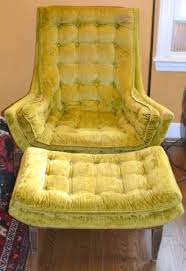 velvet chair and ottoman crush velvet chair and ottoman by listed district want
