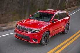 jeep grand cherokee srt red 2018 jeep grand cherokee srt redesign price and review new and