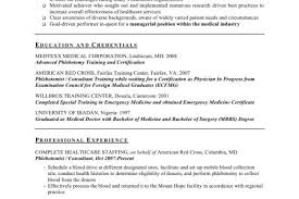 phlebotomy example resume 100 assistant controller resume