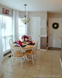 Curtains In The Kitchen Eat In Kitchen Makeover How To Easily Add More Height To Your Room