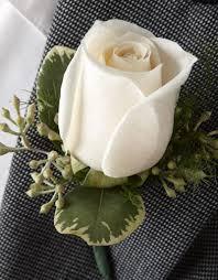 white boutonniere white boutonniere norwood ma florist