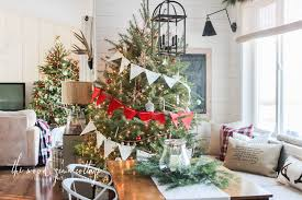 christmas home decorations ideas our christmas home tour part one the wood grain cottage