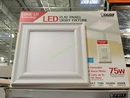 Costco Led Light Fixture Feit Electric 15 X 15 Led Flushmount Fixture Costcochaser