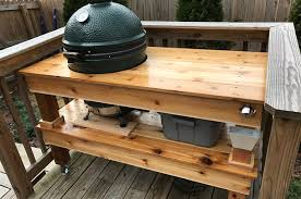 green plans big green egg table plans all parent