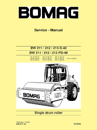 bw211 212 213d 40 service manual e 00891163 c08 pdf electrical