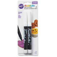 shop for the wilton foodwriter edible markers black at
