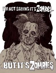 Meme Zombie - zombie art it s aliens zombie meme zombie art by rob sacchetto