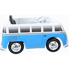 rollplay vw type 2 bus 6 volt battery powered ride on walmart com