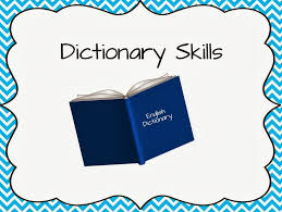the book bug dictionary skills