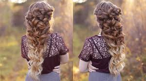 wedding hair goddess braid wedding hair