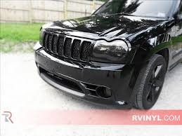 rtint jeep grand cherokee 2005 2007 headlight tint film