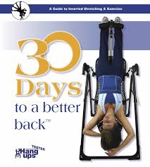Exercise Upside Down Chair 30 Day Teeter Inversion Table Program