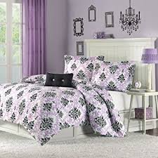 amazon com mizone katelyn 3 piece comforter set twin twin x