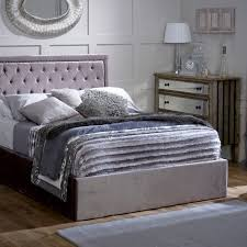 Super King Ottoman Storage Beds by Rhea Super King Upholstered Ottoman Bed Frame Silver Achica